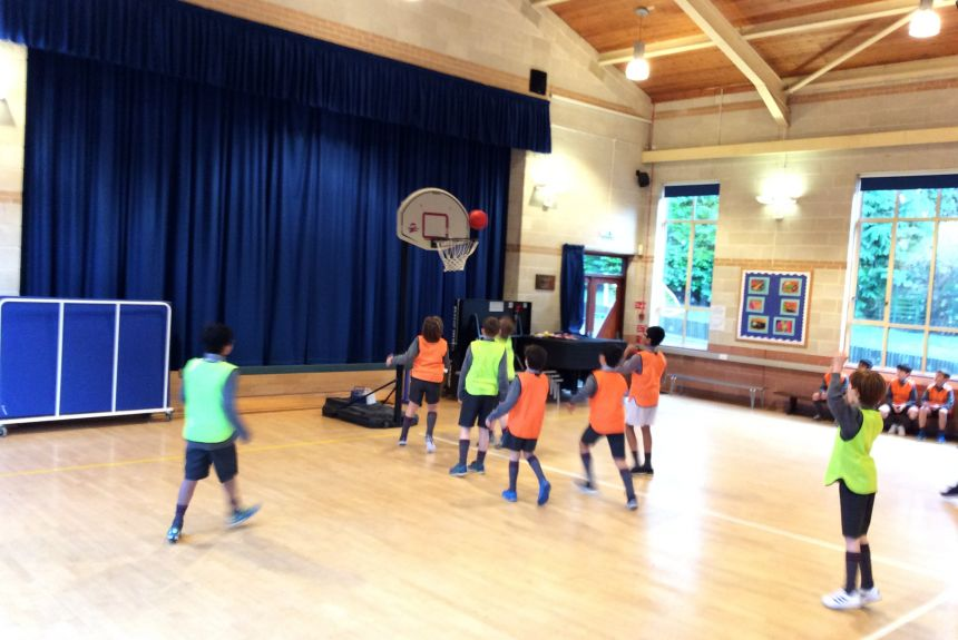 Year 5 PE Lesson