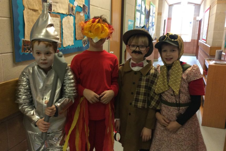 Years 3 & 4 World Book Day