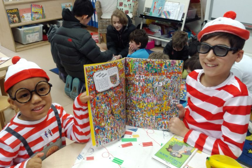 Reception World Book Day