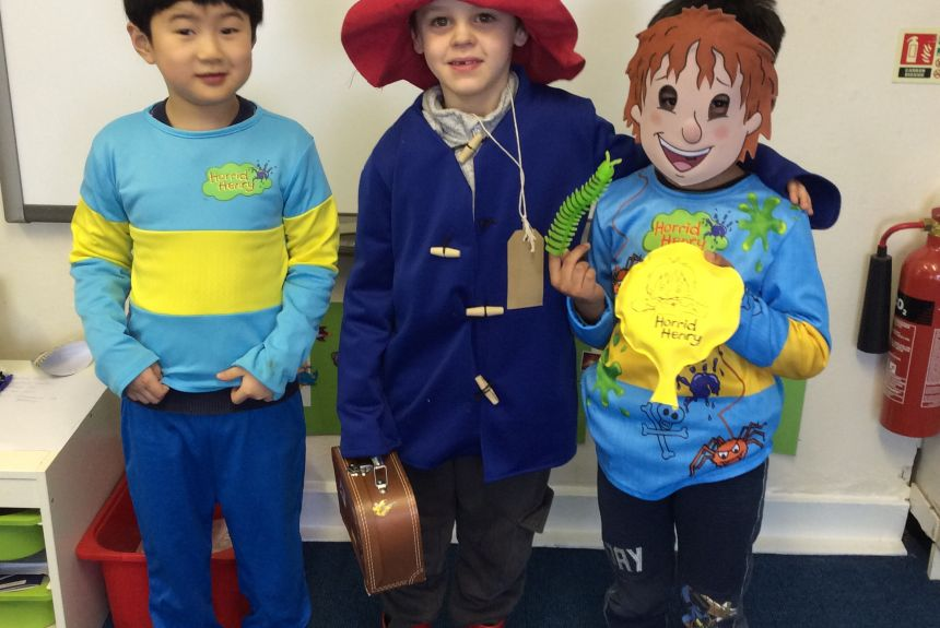 2HS Enjoy World Book Day!