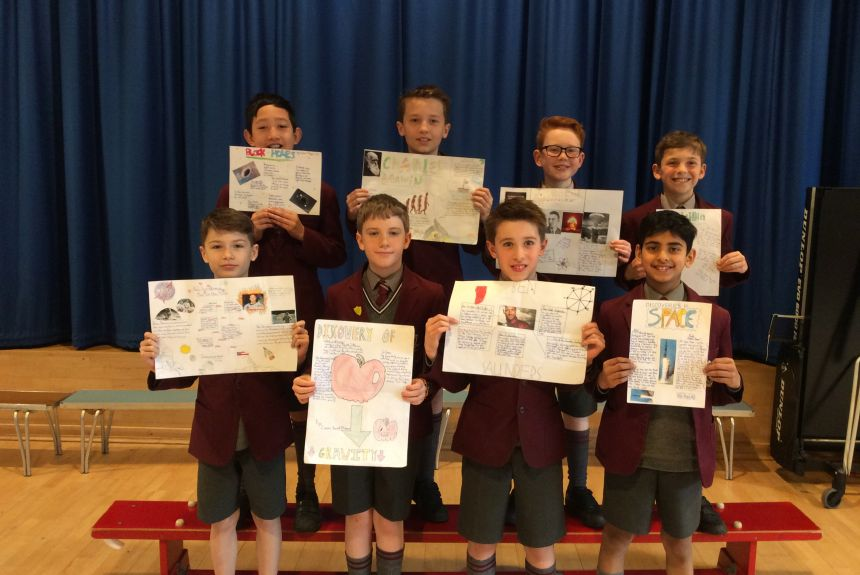Year 6 Science Poster Competition