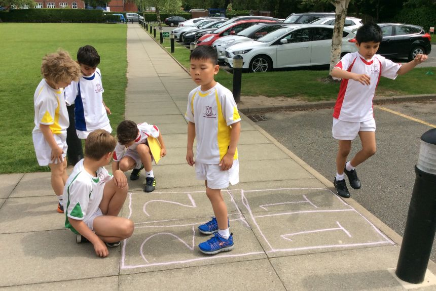 Games in Year 3 English