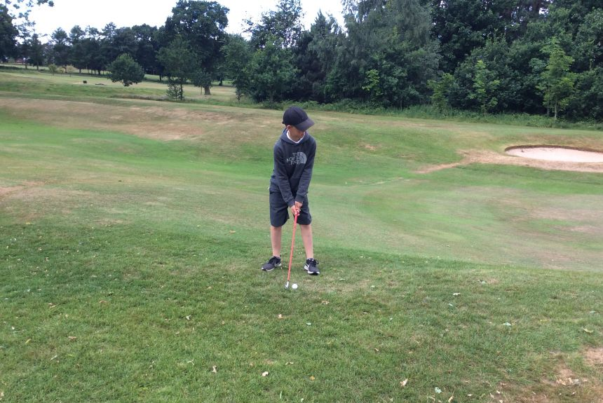 Y6 Golf Morning at Ringway