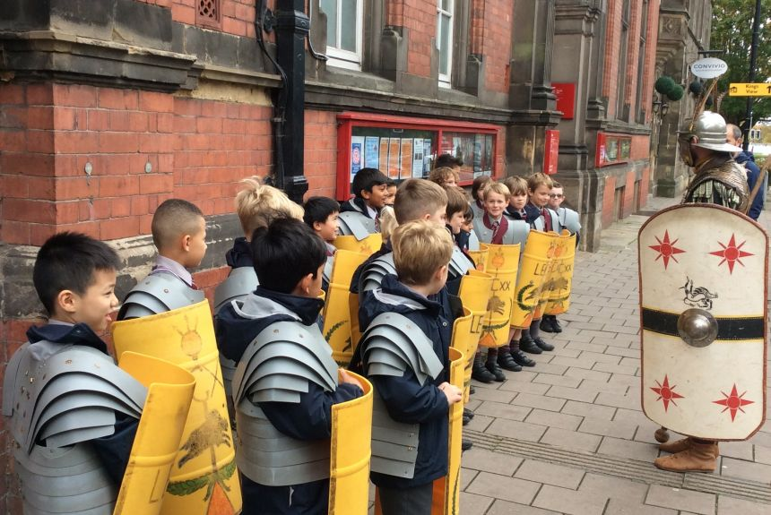 Year 3 Visit to Chester