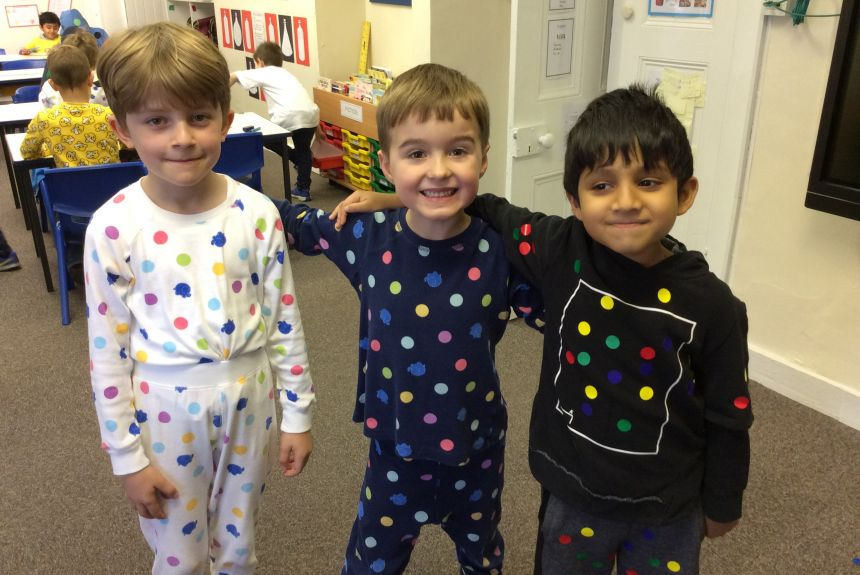 Year 2 go spotty for Children in Need!