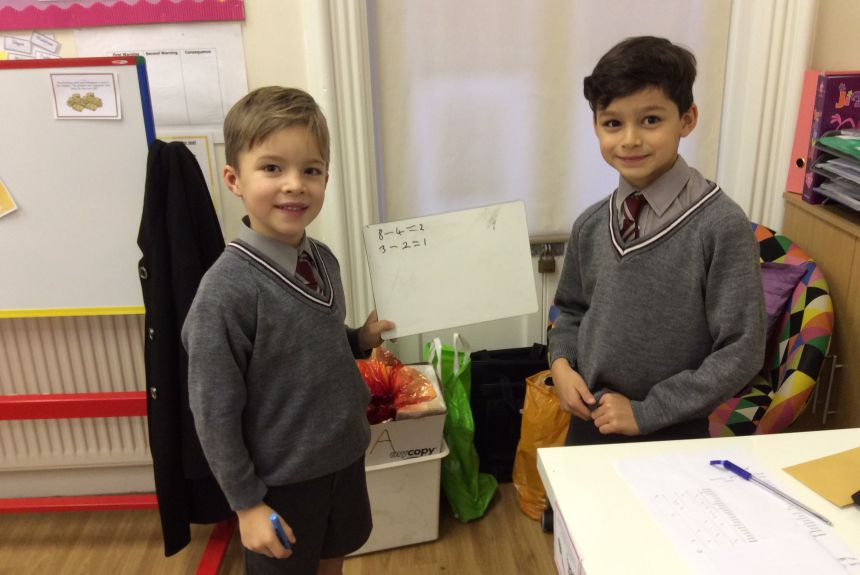 2BH search out their Christmas word problems.