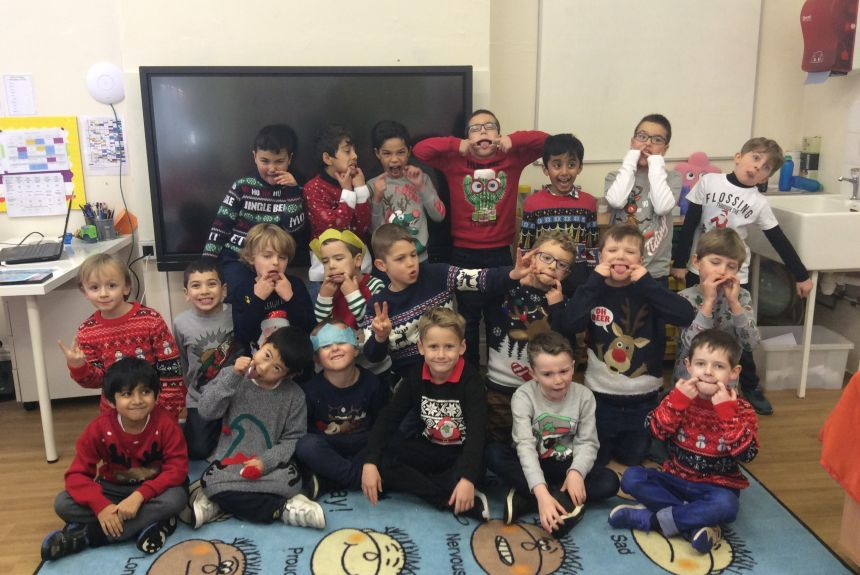 Happy Christmas from all of Year Two!