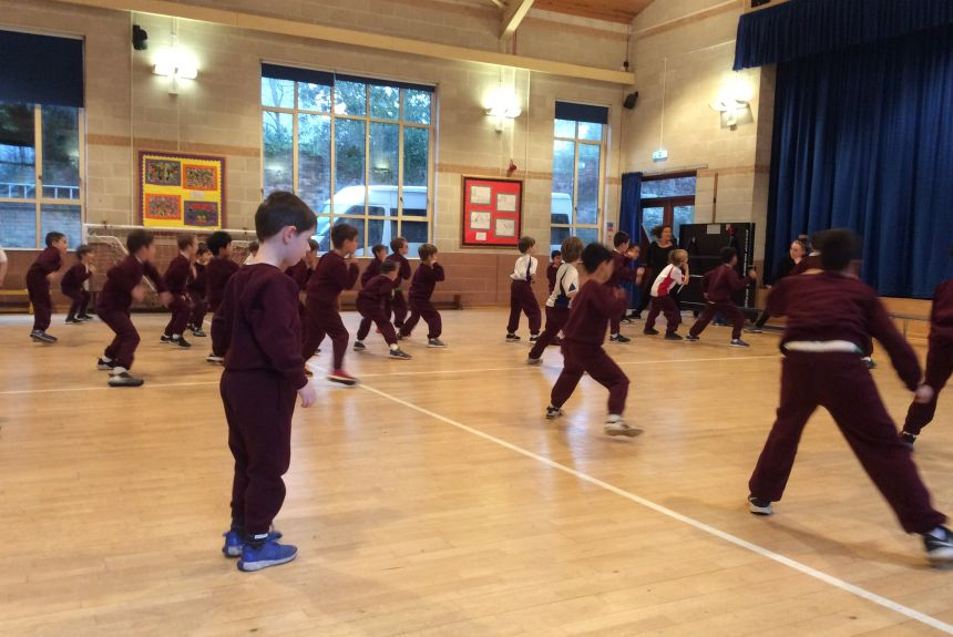 Year 2 get fit with Street dancing!