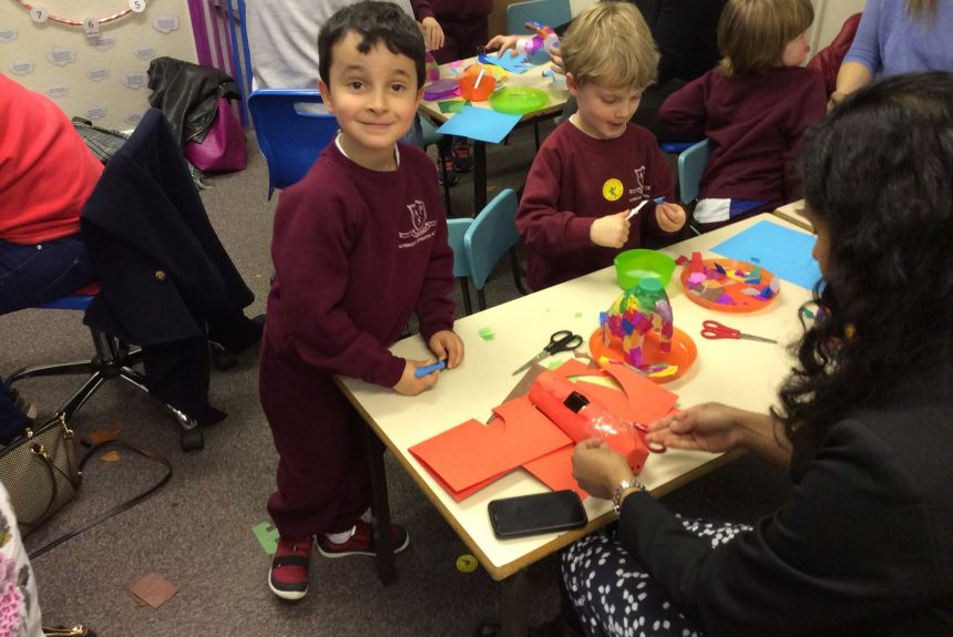 1A Healthy Living Week Craft Afternoon