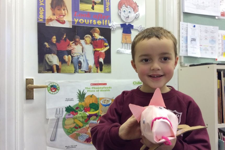 1E Healthy Living Week Craft Afternoon