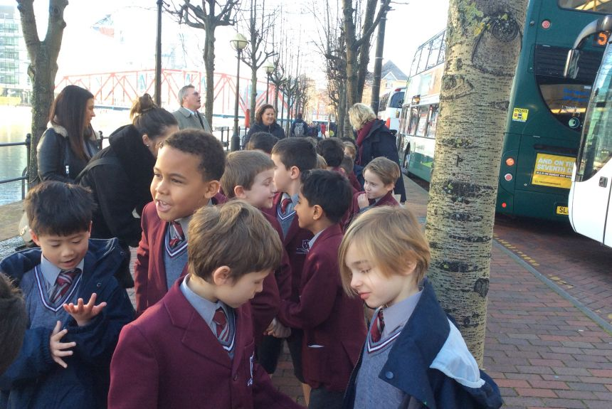 Year 2 visit The Lowry to see Billionaire Boy
