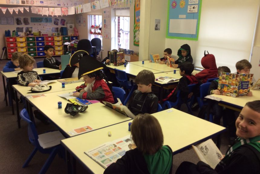 World Book Day in 2S