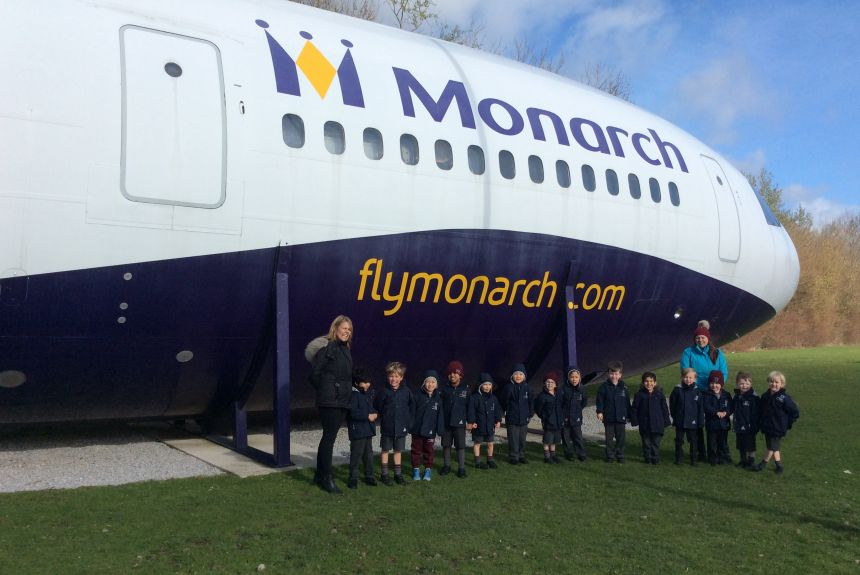 Reception visit to Manchester Airport