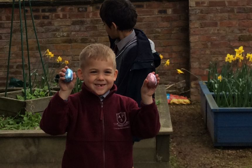 Easter Egg Hunt - 1A and 2S