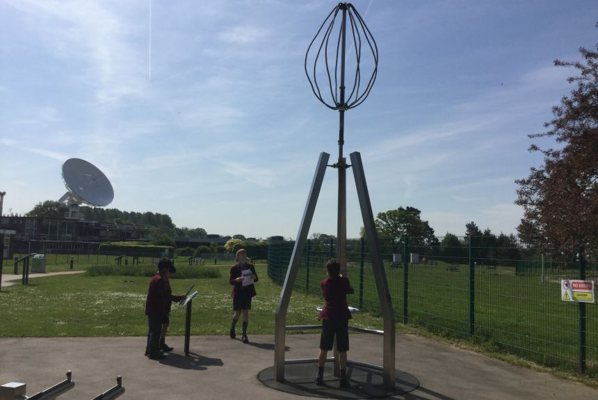 Year 5 visit Jodrell Bank Discover Centre
