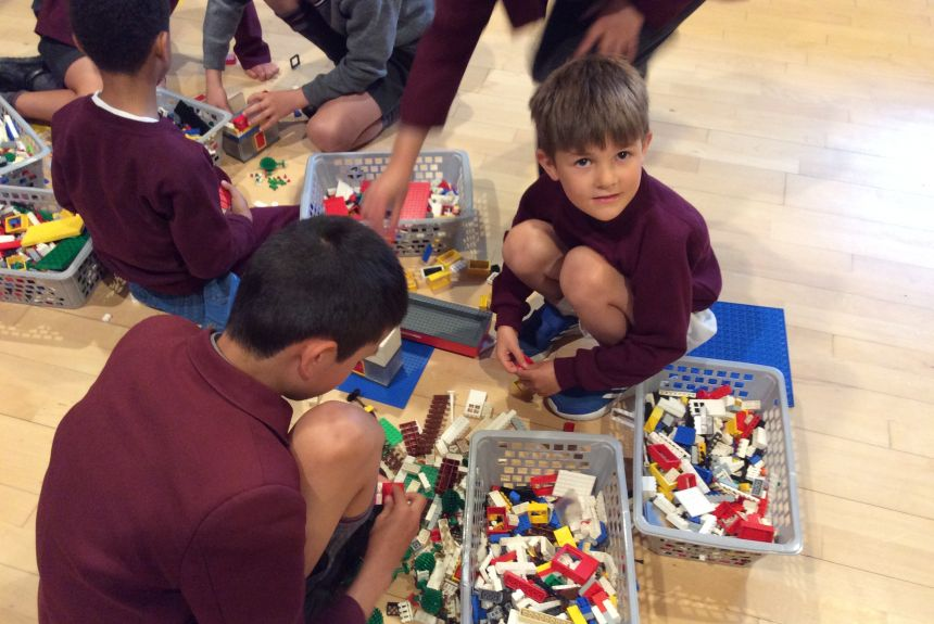 Year 1 & 6 Lego Workshop Morning