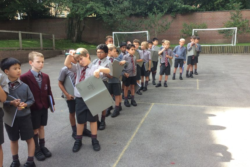 Year 3 get to grips with Forces