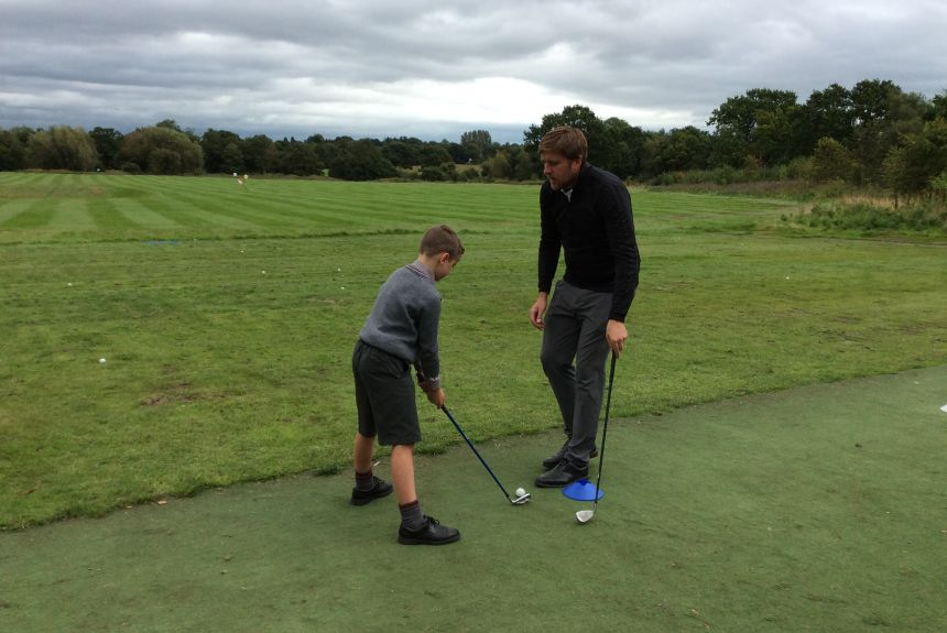 Year 5 Golf Coaching at Ringway G.C.
