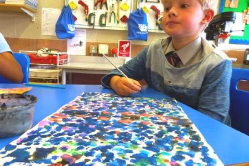 Blot paintings by Y4