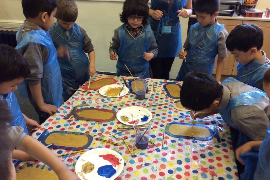 Year 2 Ancient Egyptian afternoon