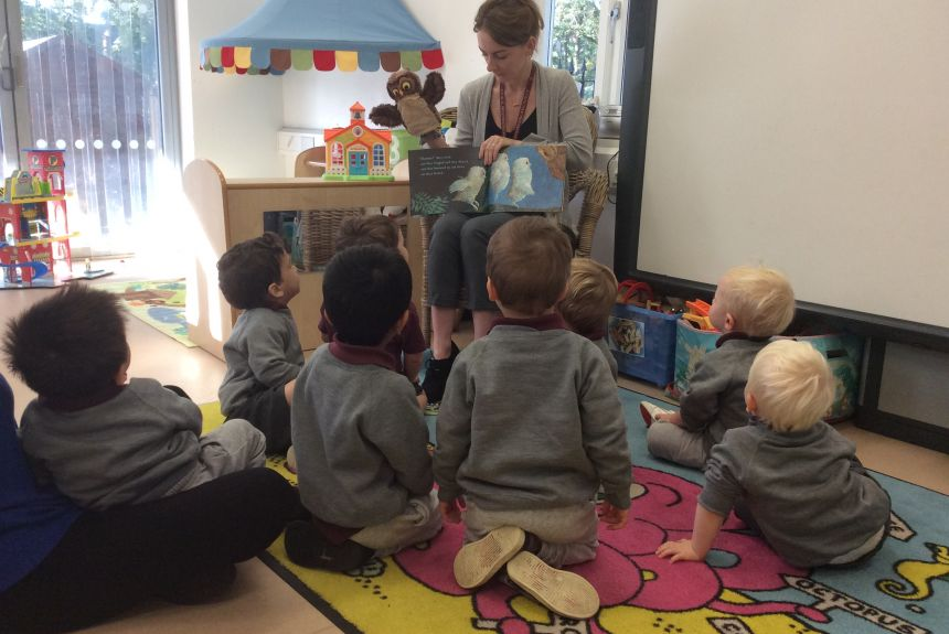 Nursery are settling in to their new routines