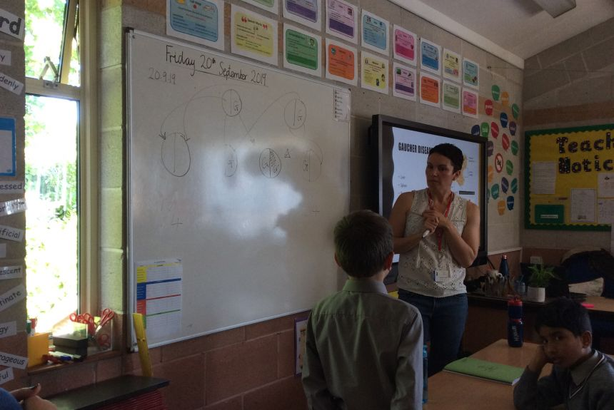 Year 3 learn the meaning of Jeans for Genes