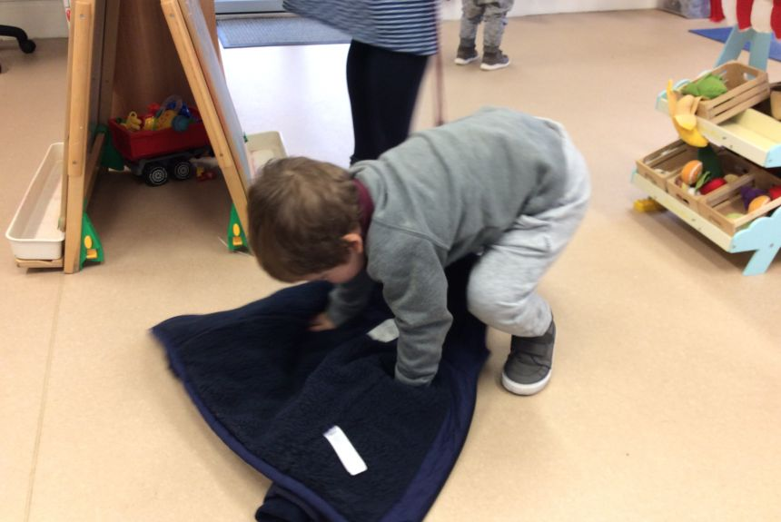 Self-Care Skills in Nursery