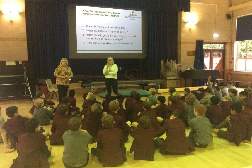 e-Safety Workshops for Year 5 & 6 boys.