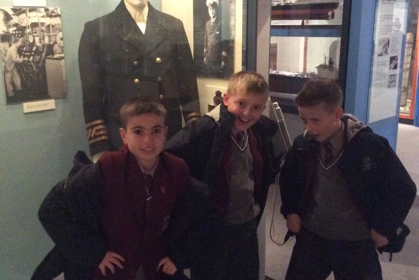 Year 5 trip to the Merseyside Maritime Museum