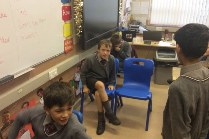 Year 5 PSHE gets dramatic!