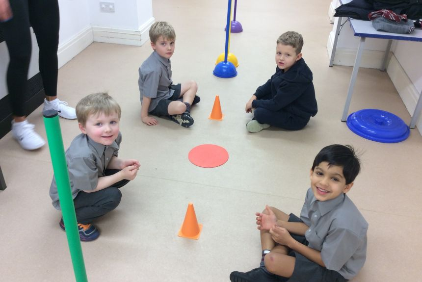 Pre-Prep get active for charity
