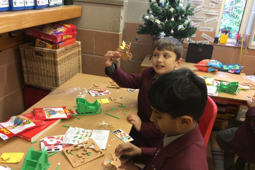 Christmas has arrived in Year 3!