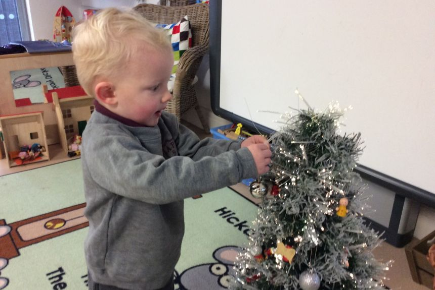 Festive Fun in Nursery