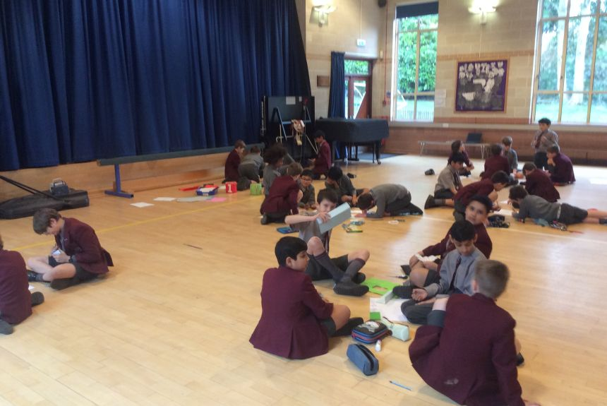 Year 5 and 6 Collaboration!