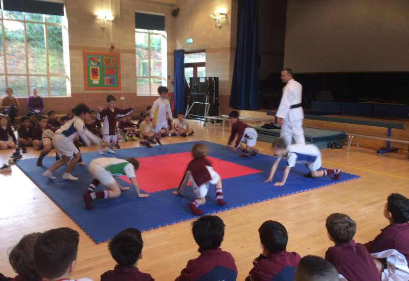 Judo Year 3 and 4