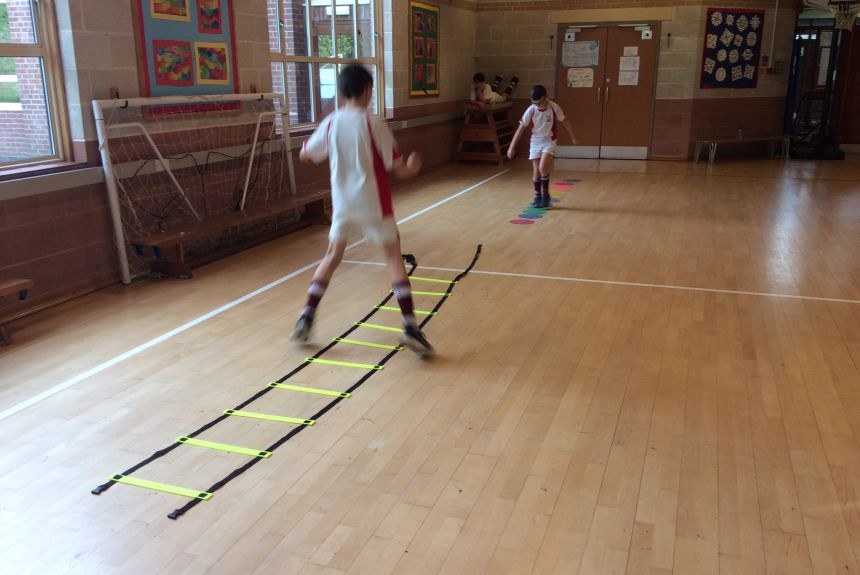 Keeping Fit in Year 6