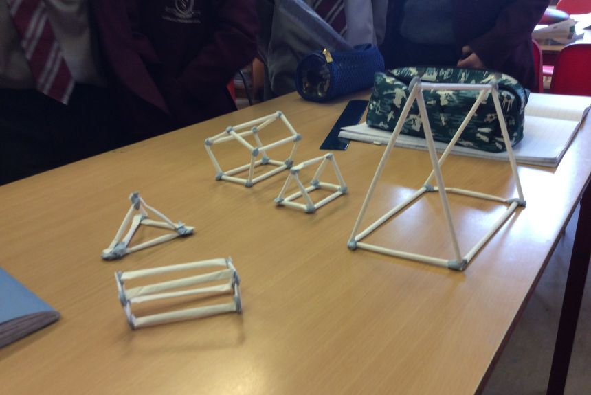 Making 3D shapes in Year 3