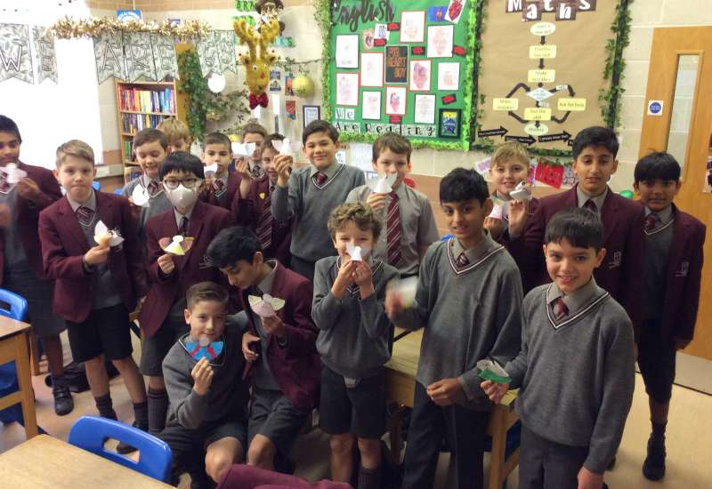 6S receive messages from the APS angels!