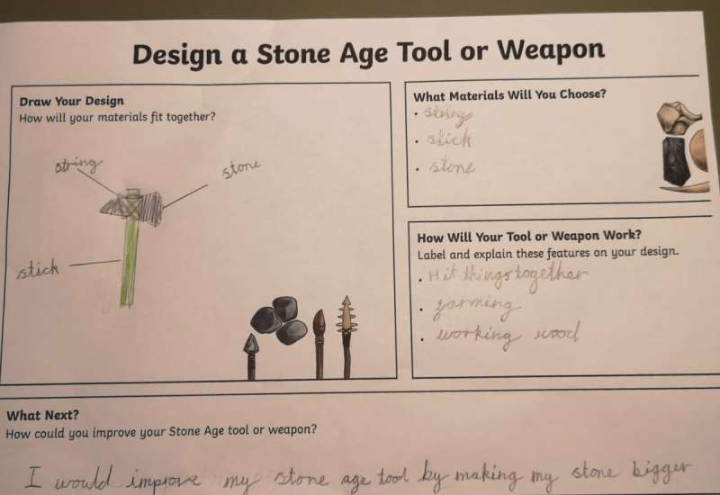 Making Stone Age Tools