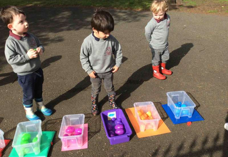 Easter fun in Nursery