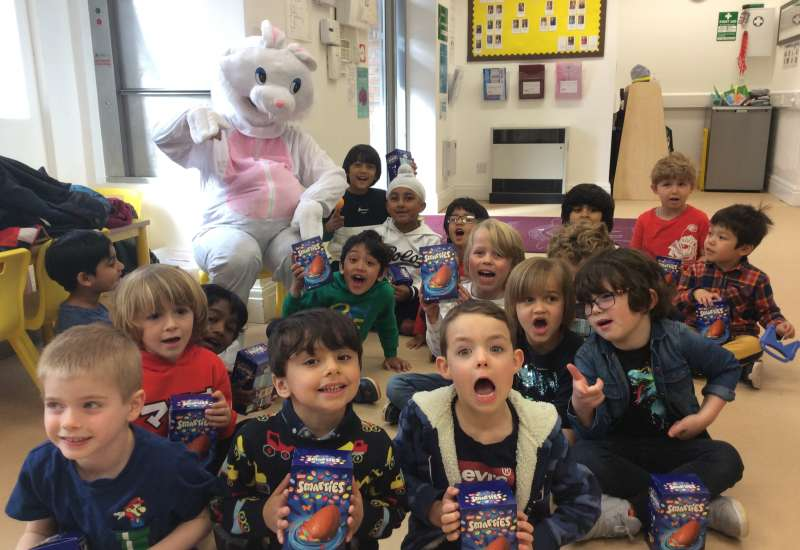 Easter in Reception