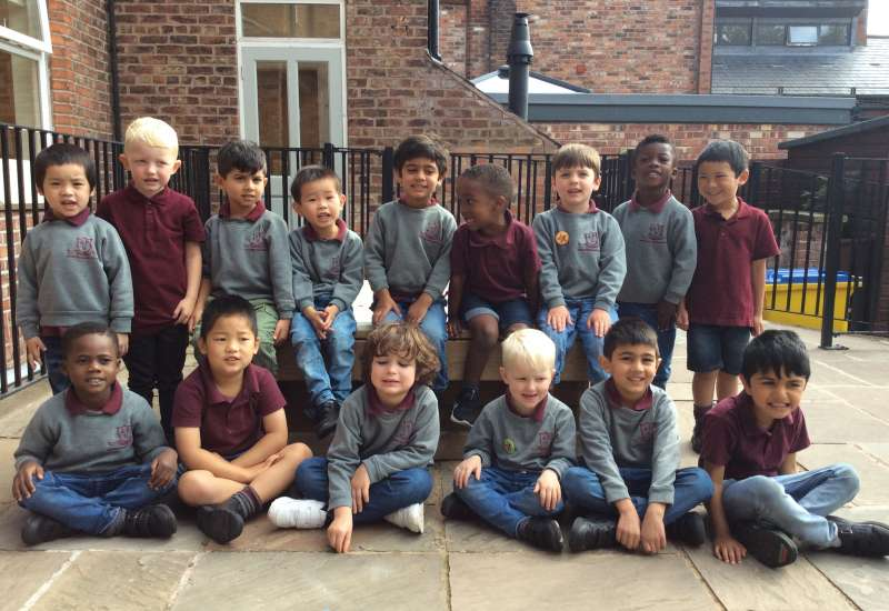 Jeans for Genes day in Reception
