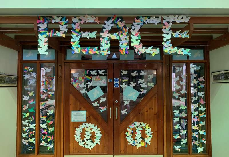 Peace Day at APS