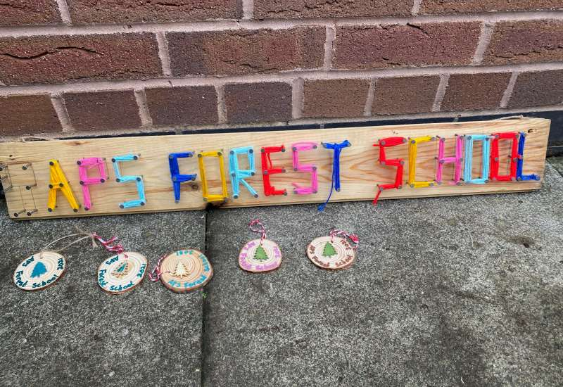 Forest School Craft and Knot Tying