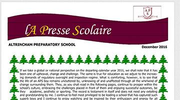 La Presse Scolaire December 2016