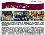 La Presse Scolaire April 2015