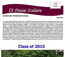 La Presse Scolaire July 2015