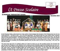 La Presse Scolaire December 2014