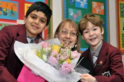 Mrs Eyley celebrates 30 years at APS
