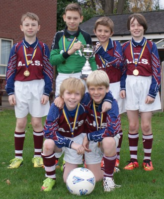 Year 5 Football Team Pass Masters at Football Festival